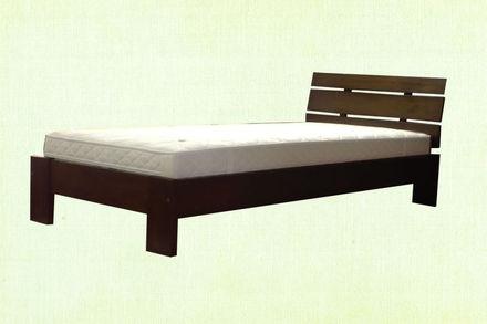 Кровать Лагуна 120*200 см бук