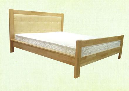 Кровать Цезарь Неомеблі 180*200 см бук