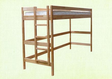 Кровать Чердак 90*200 см бук