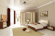 Спальня Виола глянец ваниль Миро-Марк