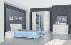 Модульная спальня из ДСП Фелиция Новая Світ Меблів