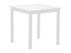 Стол обеденный из натурального дерева Колтон Domini белый
