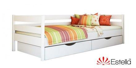 Кровать Нота щит 90*200 см бук