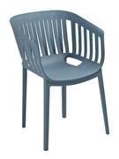 Кресло из пластика Патио Domini сланец