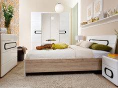 Модульная спальня из ДСП и МДФ Byron BRW Польша
