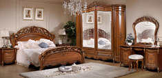 Спальня Аллегро 1Д1 с 6Д шкафом СлонимМебель