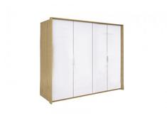 Шкаф 4 дв без зеркал комплект Флоренция