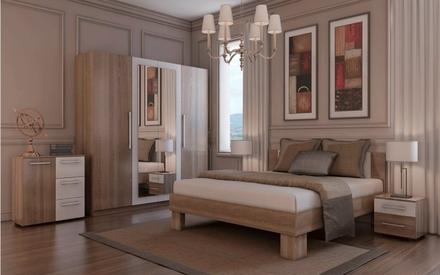 Модульная спальня дуб сонома Martina Blonski