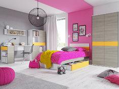 Детская модульная спальня YOUNG SZYNAKA