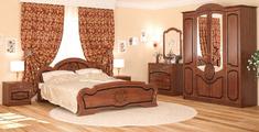 Спальня Барокко 4Д Мебель Сервис