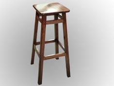 Табурет барный с квадратным сиденьем Микс мебель