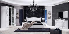 Спальня Богема глянец белый Миро-Марк