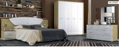 Спальня Миллениум Глянец белый-Сан Марино