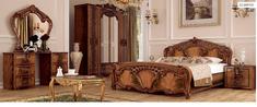 Спальня Олимпия перо орех Миро-Марк