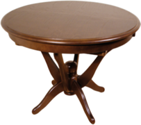 Стол обеденный раскладной из натурального дерева Антонио Бис МДФ
