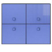Тумба 4d «Аватар» синий Gerbor