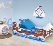 Детская кровать с функцией колыбели Boat Halmar