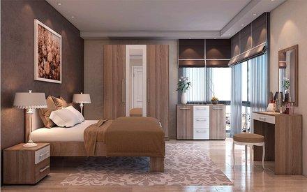 Модульная спальня Martina трюфель Blonski