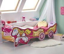 Детская кровать c регулируемой длиной Cinderella Halmar