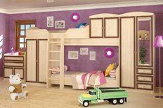 Детская модульная система Дисней Мебель Сервис