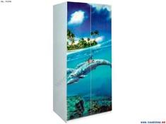 Шкаф Мульти 2Д Дельфины