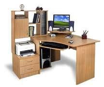 Угловой компьютерный стол Эксклюзив-1 ПВХ