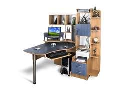 Стильный компьютерный стол Эксклюзив-3 Меламин