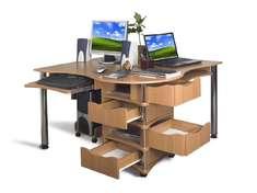 Компактный компьютерный стол Эксклюзив-4 Меламин