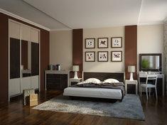 Модульная Спальня из ДСП Элис Летро