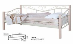 Тахта Эмили 90*190