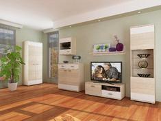 Модульная гостиная Montreal белый глянец Blonski