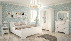 Модульная спальня из ДСП Ирис Мебель Сервис