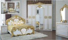 Спальня Ева глянец белый Миро-Марк