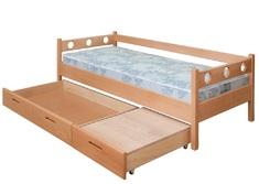 Детская кровать Капитошка (без ящиков) Пурий-Мастер 80*200