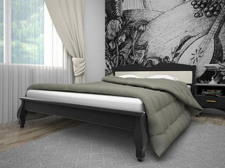Кровать Корона 3 90*200 см сосна