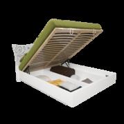 1,6 с подъемным механизмом комплект Богема глянец белый Миро-Марк