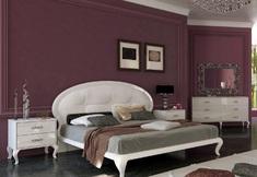 Спальня Империя глянец белый Миро-Марк