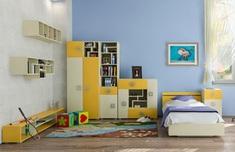 Детская модульная система Labirynt желтый Blonski