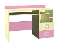 Стол правый Labirynt-18 розовый Blonski