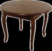 Стол обеденный раскладной из натурального дерева Марио Бис МДФ