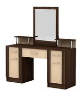 Туалетный стол с зеркалом Альфа 140*50*155