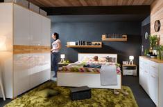 Модульная спальня из ДСП Bari BRW Польша