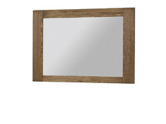 Зеркало с рамой из ДСП ламинированной шпоном дуба VELVET 81 SZYNAKA