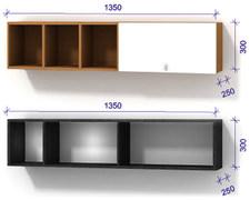 Полка модульная 3 Luxe Studio