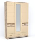Шкаф 3Д3Ш MULATTO H сахара глянец Blonski