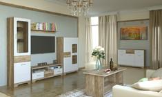 Модульная гостиная  Mulatto белый глянец Blonski
