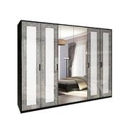 Шкаф 6Д Виола глянец белый Миро-Марк
