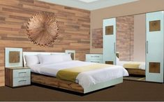 Модульная спальня из ДСП Вудс Gerbor