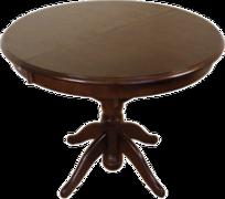 Стол обеденный раскладной из натурального дерева Соло Бис МДФ
