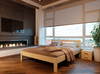 Кровать Соната Неомеблі 180*200 см бук 1